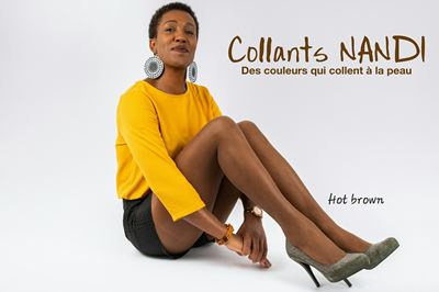 COLLANT NANDI Couleur Hot Brown COLLANT NANDI Couleur Hot Brown d7f871049f8